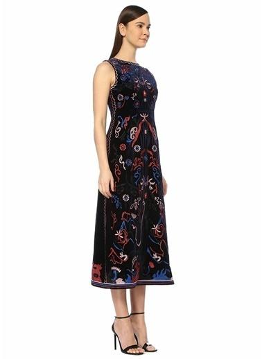 Foxiedox Elbise Lacivert